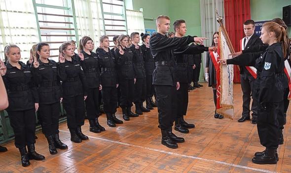 Ślubowanie klasy mundurowej  2014