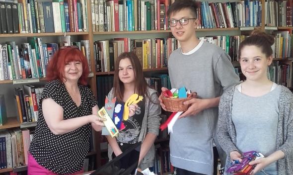 Akcja z okazji Ogólnopolskiego Dnia Bibliotekarza i Bibliotek