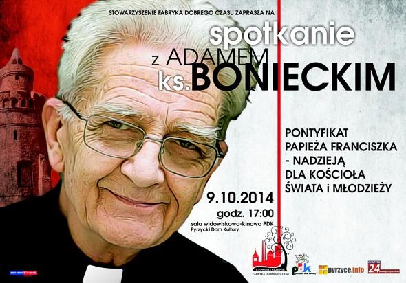 Spotkanie z ks. Bonieckim