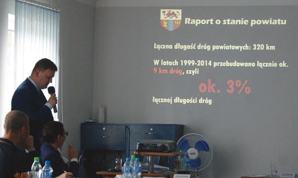 Raport o stanie powiatu: 26 milionów złotych zobowiązań!