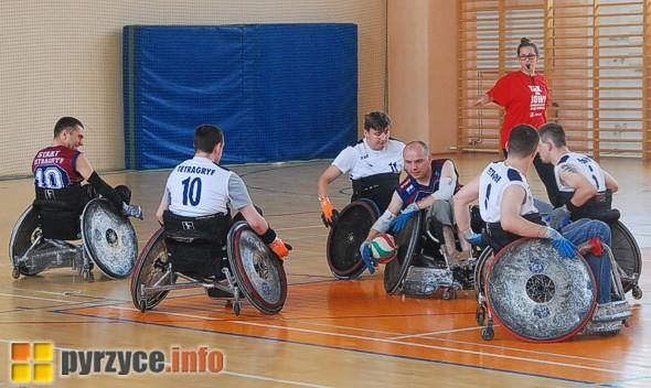 Pokazowy mecz Rugby na Wózkach