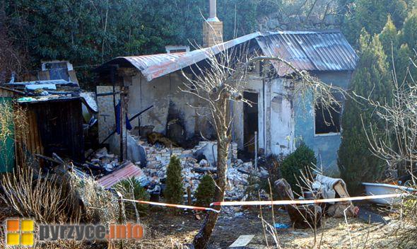 Dwie osoby zginęły w pożarze altanki w Pyrzycach