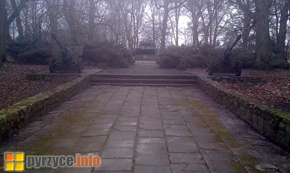 W parku ze ścieżek uprzątnięto liście…