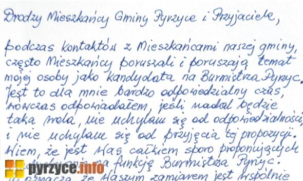 Kazimierz Lipiński podjął decyzję odnośnie wyborów samorządowych!