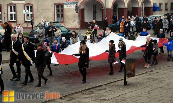 I Pyrzycki Marsz Niepodległości – fotorelacja