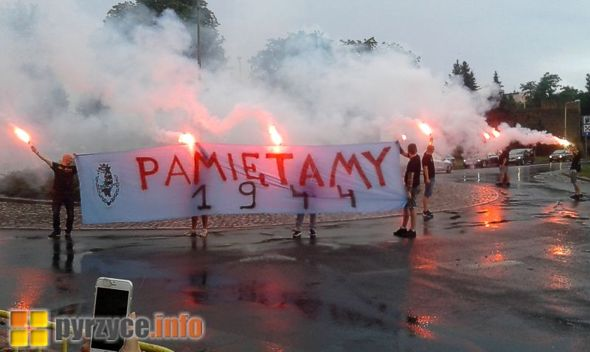Pyrzyczanie uczcili wybuch Powstania Warszawskiego!